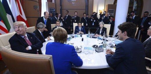 Лидеры G7 отметили важность взаимодействия с Россией