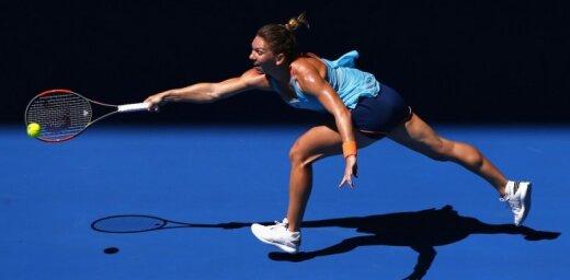 Titulētā Halepa cieš zaudējumu jau 'Australian Open' pirmajā kārtā