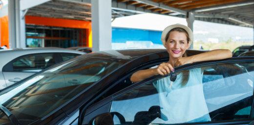 Pirmreizējā reģistrācija šogad Latvijā veikta par 4,8% mazāk vieglo auto