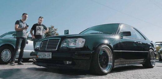 Septembrī notiks ikgadējais 'Mercedes-Benz' auto īpašnieku salidojums
