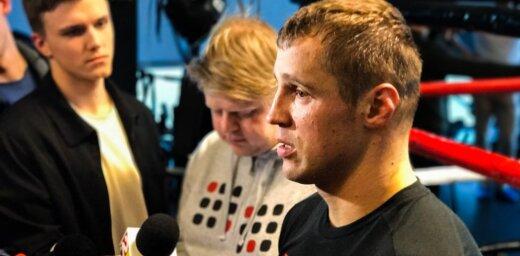 Briedis: cīņa par čempiona jostu pret pasaules līmeņa bokseri ir liela atbildība