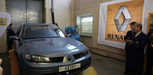 'Renault' dāvina RTU automobili inženieru apmācībām