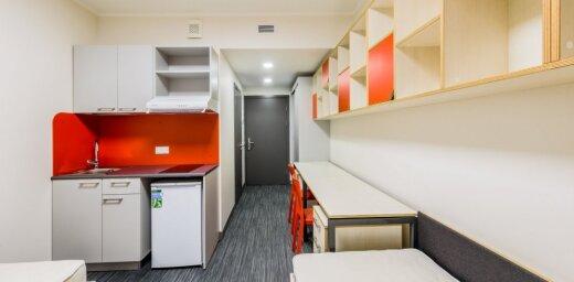 ФОТО: открыто самое современное студенческое общежитие в Латвии