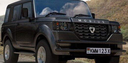 Afrikāņi modernizējuši savu lēto apvidus auto 'Mobius'