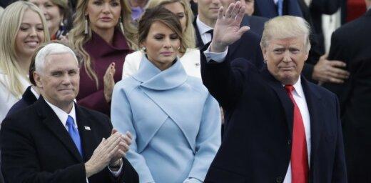 ФОТО, ВИДЕО: Опять оттолкнула. Что происходит между Меланией и Дональдом Трампом