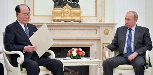 Putins uzaicinājis Kimu Čenunu apmeklēt Krieviju