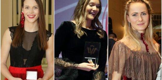 Elegance un sievišķība: viesu stils vieglatlētikas balvas ceremonijā