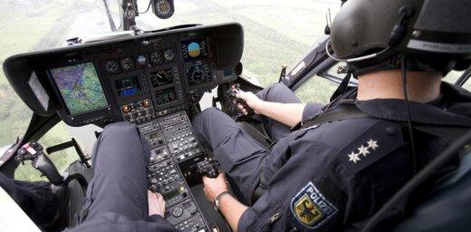 Германия: подозреваемого в кражах латвийца искали с помощью вертолета