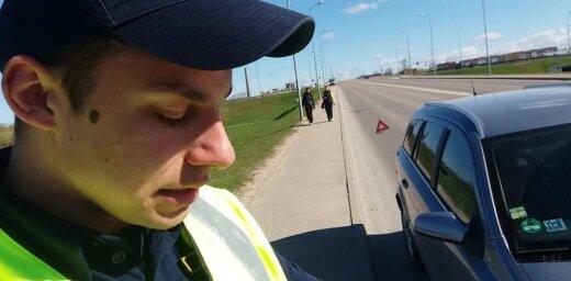 ВИДЕО: Три минуты на протокол. Стычка нарушителя с дорожными полицейскими