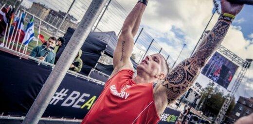 Foto: Ar pasaules čempionātu ielu vingrošanā atklāj Eiropas Sporta nedēļu