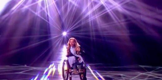 Krievija uz 'Eirovīziju' sūtīs dziedātāju ratiņkrēslā