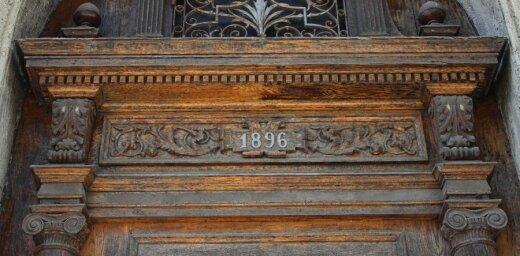 Durvis, kas 'atceras' nozares uzplaukumu Liepājā