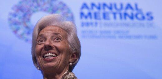 'Globalizācija ir devusi uzplaukumu': Lagarda iestājas par starptautisku sadarbību