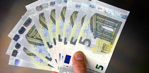 Latvijas bankas divos mēnešos nopelna 60,89 miljonus eiro