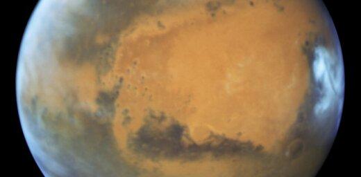 Над Марсом сняли редкий атмосферный феномен