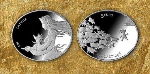 Aicina balsot par 'Latvijas gada monētu 2016'