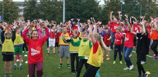 Vismaz 563 vietās piektdien Latvijā notiks 'Olimpiskās dienas' pasākumi