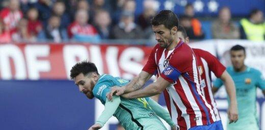 Mesi vārtu guvums garantē 'Barcelona' uzvaru grandu mačā pār Madrides 'Atletico'