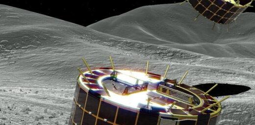 Японские роботы совершили успешную посаду на астероид Рюгу и прислали фото