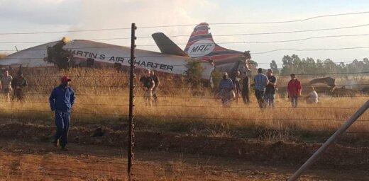 Крушение самолета сняли на видео изнутри