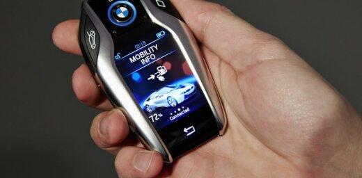 BMW plāno atteikties no tradicionālās auto atslēgas