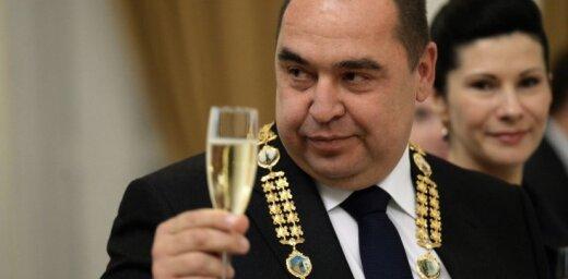 Глава ЛНР Плотницкий с ближайшими соратниками уехал из Луганска в Россию