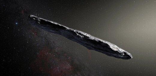 """Ученые обнаружили первый межзвездный астероид-""""сигару"""""""