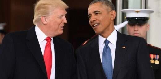 Krievijas centieni ietekmēt ASV vēlēšanas: Tramps Obamam pārmet neizdarību