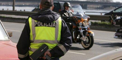 Svētdien Latvijā reģistrētas 55 avārijas