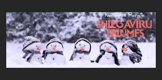 Noklausies! Normunds Rutulis ieskaņojis jestru muzikālo pasaku 'Sniegavīru triumfs'
