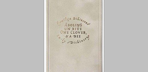 Bilingvālo samta sēriju turpina Emīlijas Dikinsones dzejas izlase