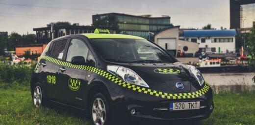 Igaunijas vecākais 'Nissan Leaf' elektriskais taksometrs nobraucis jau 309 tūkstošus kilometru