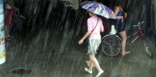 На этой неделе - дождь, порывистый ветер, а затем похолодание