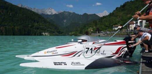 Jūrmalnieks Ņikita Lijcs jauno PČ sezonu ātrumlaivām iesāk ar 5. vietu Itālijā