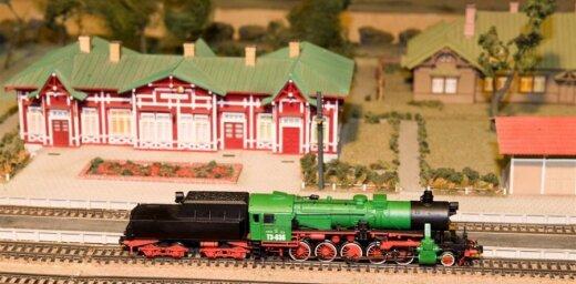 Liliputija Dzelzceļa muzejā