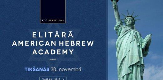 Rīgā viesojas elitāras ebreju privātskolas no ASV direktors