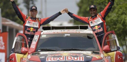 Dakaras rallijreida pirmajā posmā uzvaru izcīna divkārtējais čempions Al-Atija