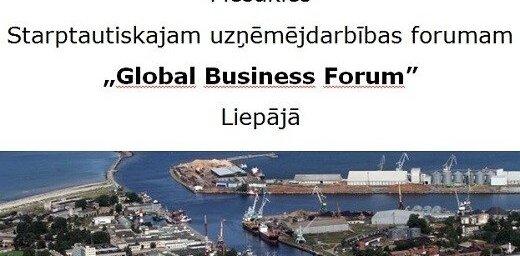 Iespējams pieteikties dalībai starptautiskajā uzņēmējdarbības forumā Liepājā