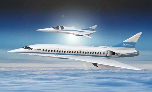 2333 km/h ātrums – 'Japan Airlines' investē ASV virsskaņas lidmašīnu startapā