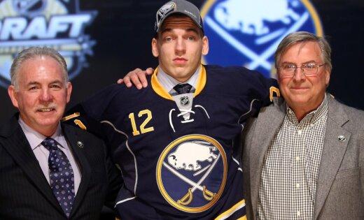 Girgensonu NHL draftā ar 14.numuru izvēlas Bufalo 'Sabres' komanda