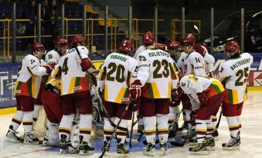 Lietuvas hokejisti nespēj pieveikt Rumāniju