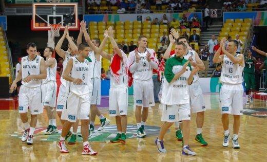 Lietuvas basketbolisti ar grūtībām turpina ceļu uz Londonas Olimpiādi