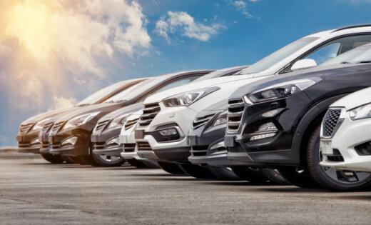 Latvijā jaunu auto reģistrācijas pieaugums straujāks par ES vidējo
