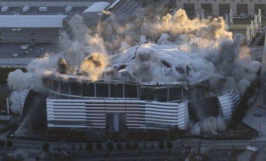 ВАтланте взорвали олимпийский стадион