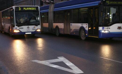 В Ночь музеев в Риге — дополнительные рейсы общественного транспорта