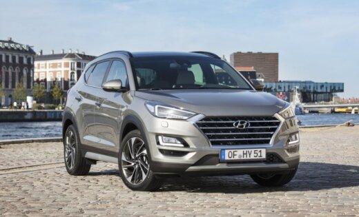 Modernizētais 'Hyundai Tucson' tagad ieguvis arī daļējā hibrīda sistēmu