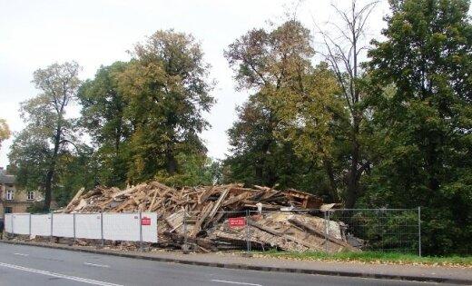 В Риге уничтожена еще одна усадьба