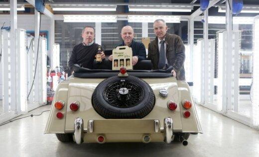 Britu ekskluzīvo auto ražotājs 'Morgan' uzsācis tirgot alu