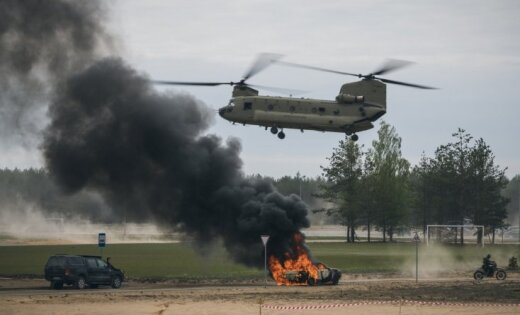Foto: Lietuvā noslēdzas Baltijas reģionā lielākās speciālo operāciju spēku mācības
