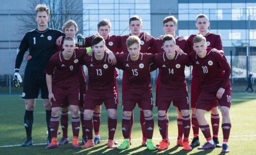 Latvijas U-19 futbolisti pēc spēles ar Horvātiju saglabā cerības uz nākamo kārtu